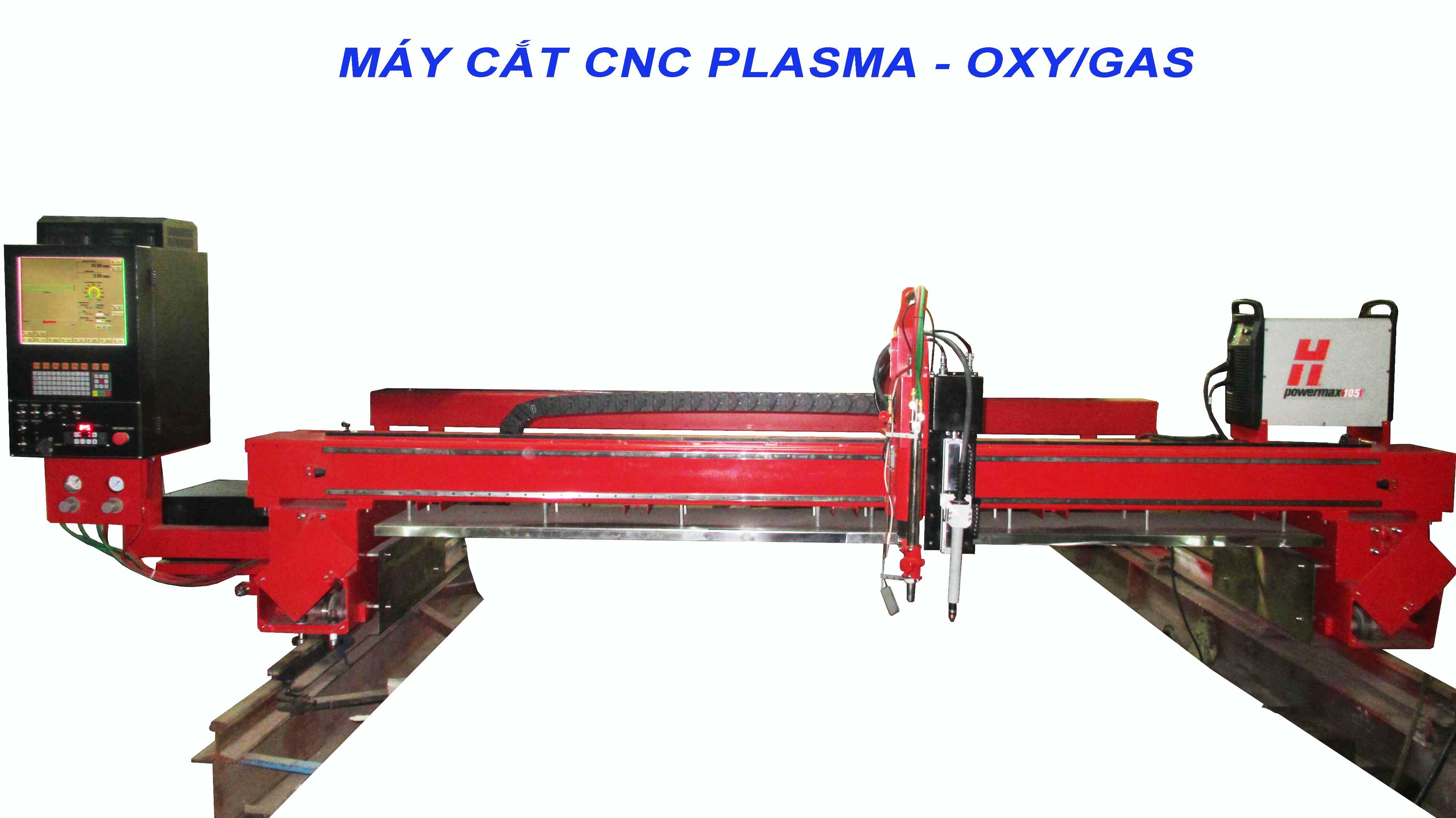 MÁY CẮT CNC PLASMA/OXY-GAS 3500