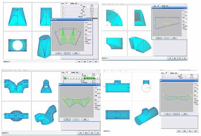 Máy cắt CNC Plasma cắt ống thông gió HVAC